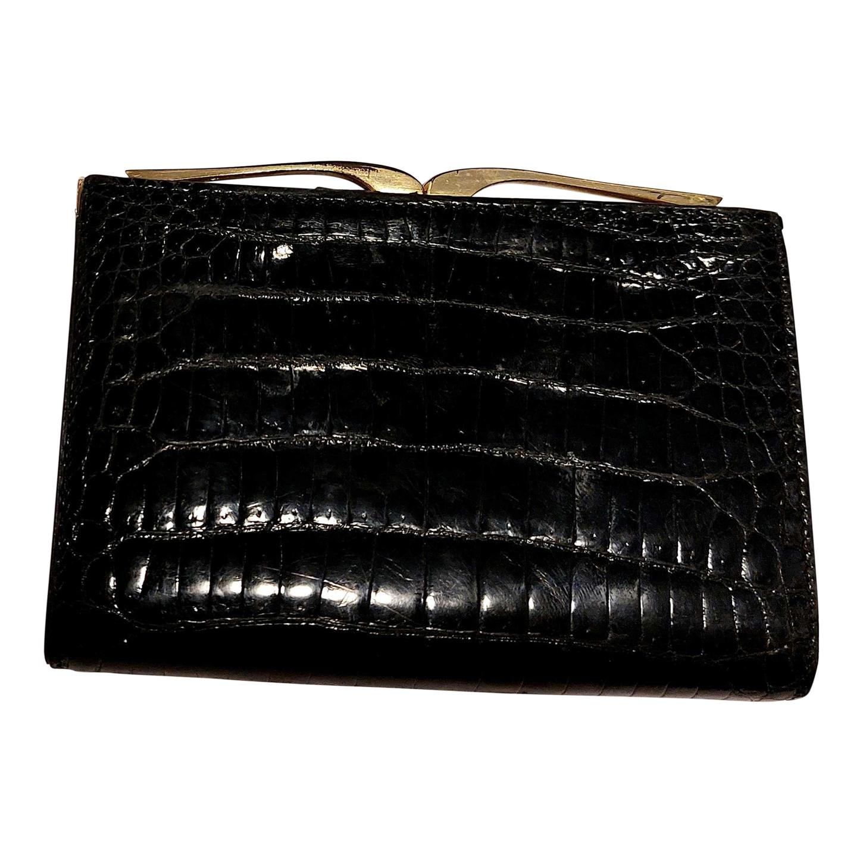 Porte-monnaie en cuir exotique