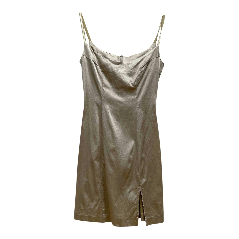 Robe dorée 90's