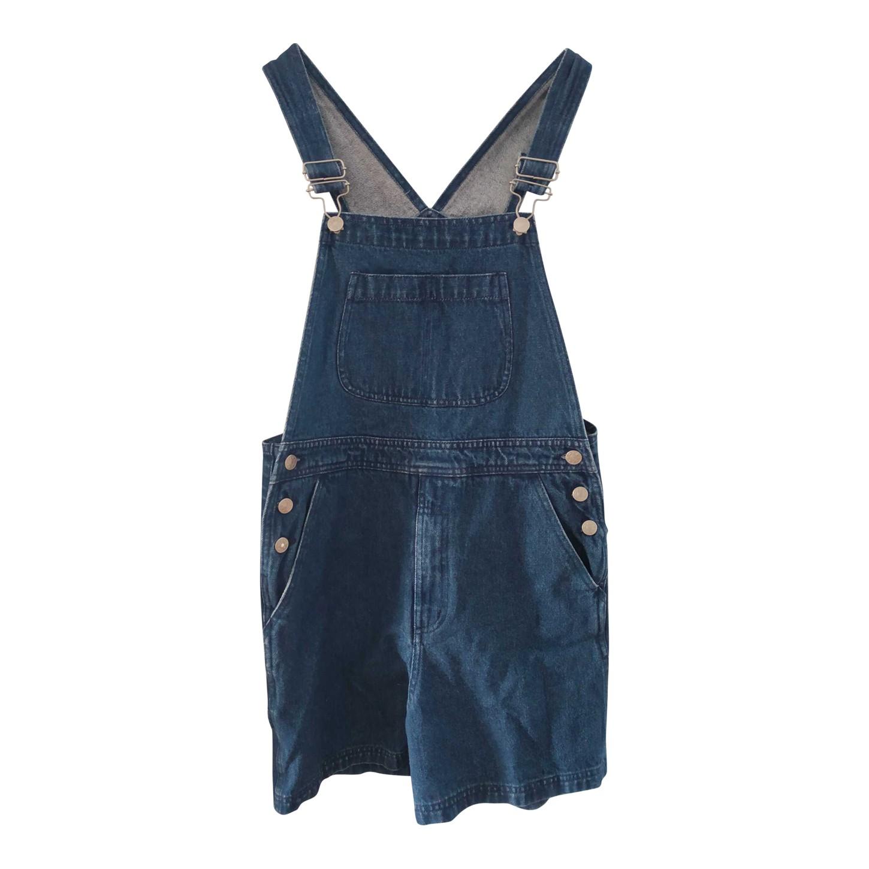 Salopette short en jean