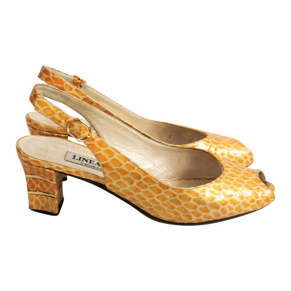Sandales en cuir