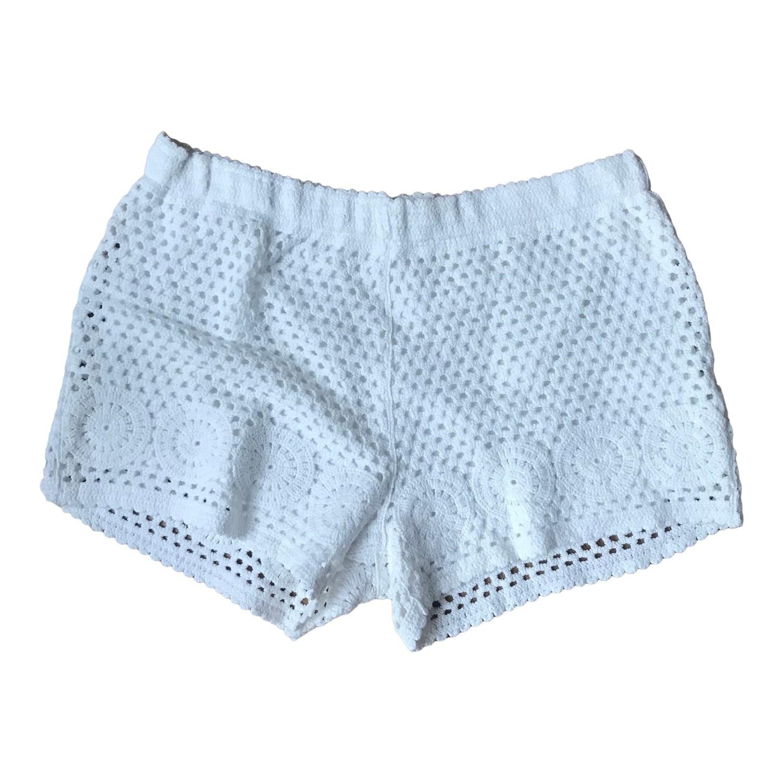 Short en crochet