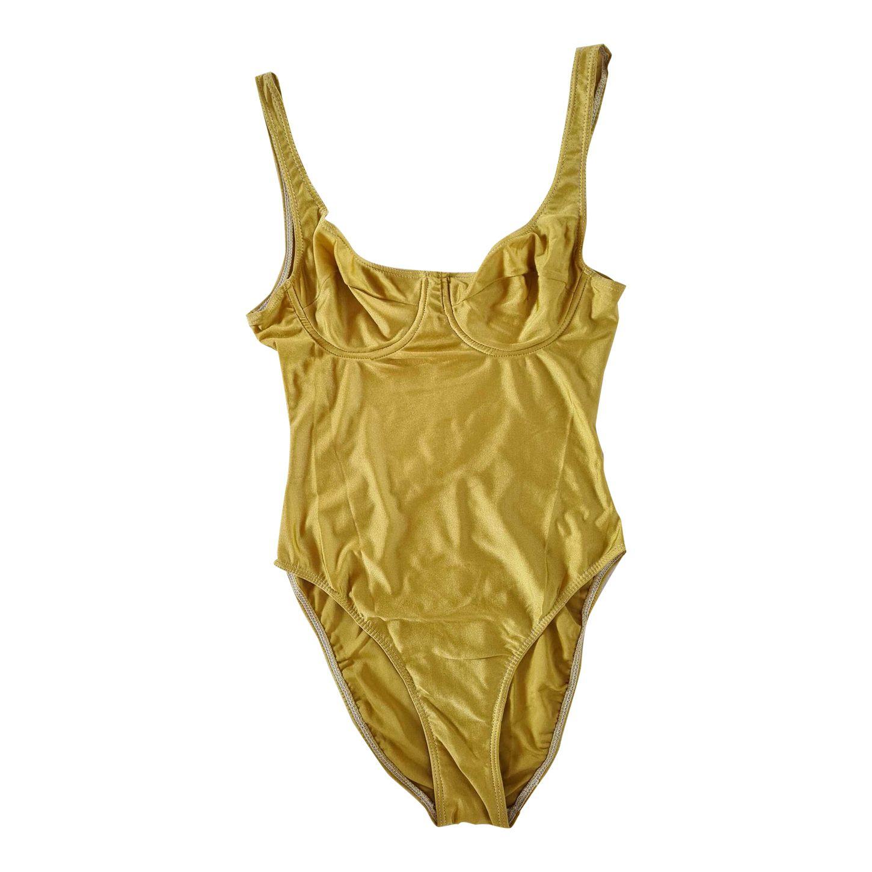 Maillot de bain doré