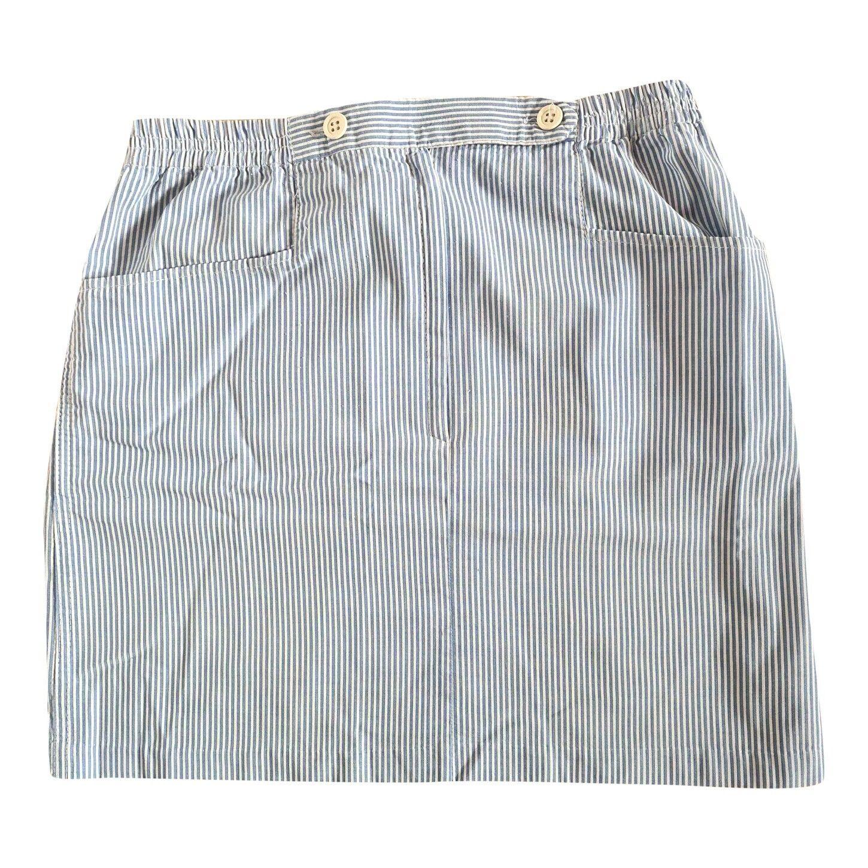 Mini jupe à rayures