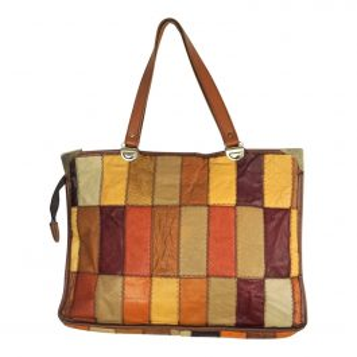 Grand sac patchwork
