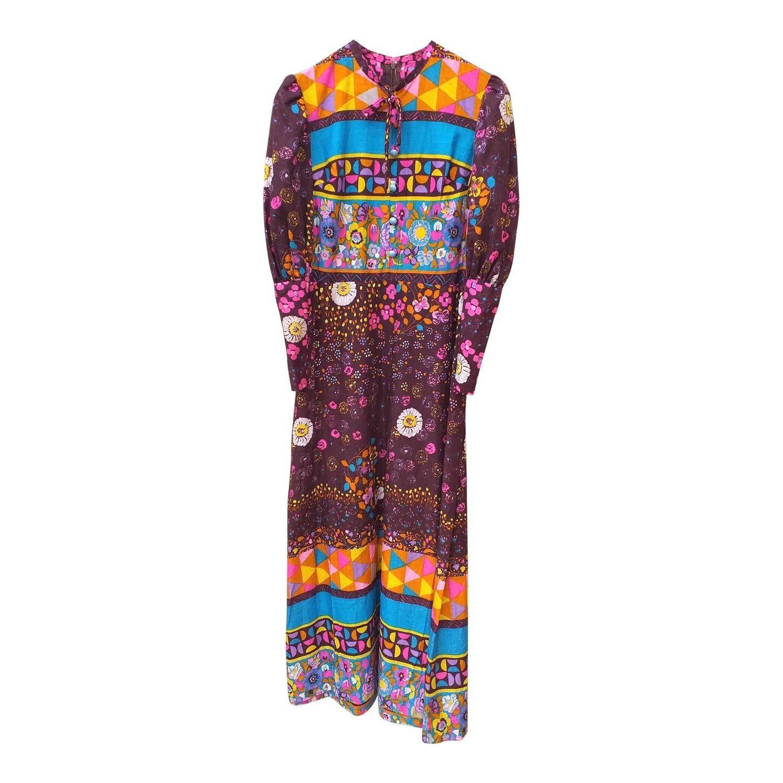 Robe longue 70s