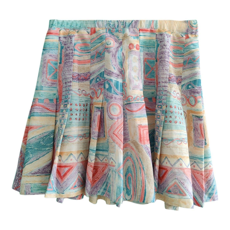 Mini jupe plissée pastel