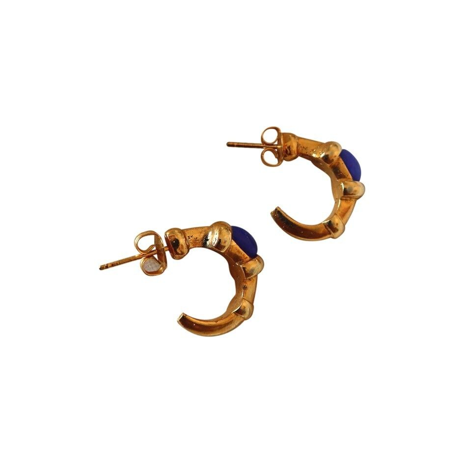 Boucles d'oreilles dorés