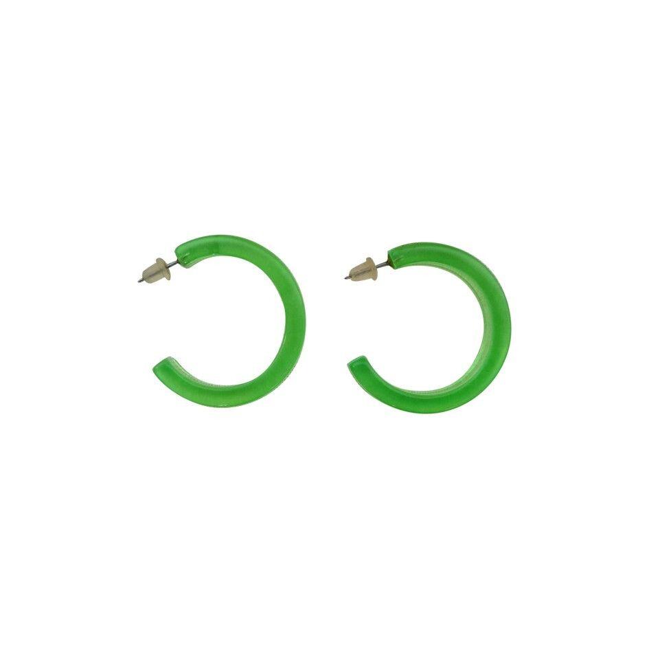 Boucles d'oreilles fluo