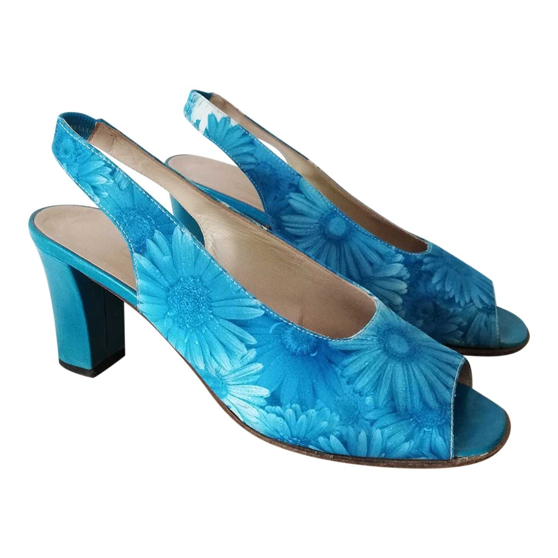 Sandales à fleurs