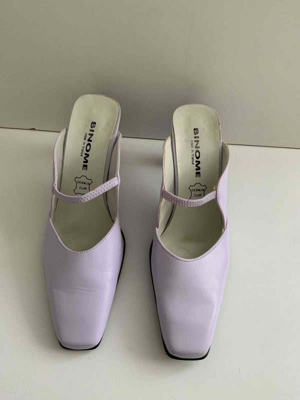 Mules lilas