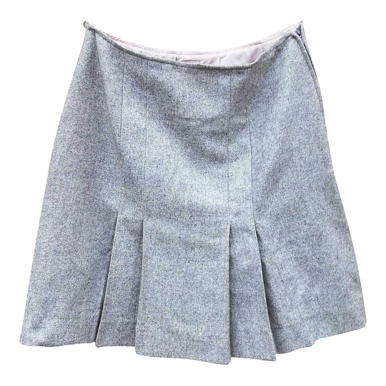 Mini jupe en laine