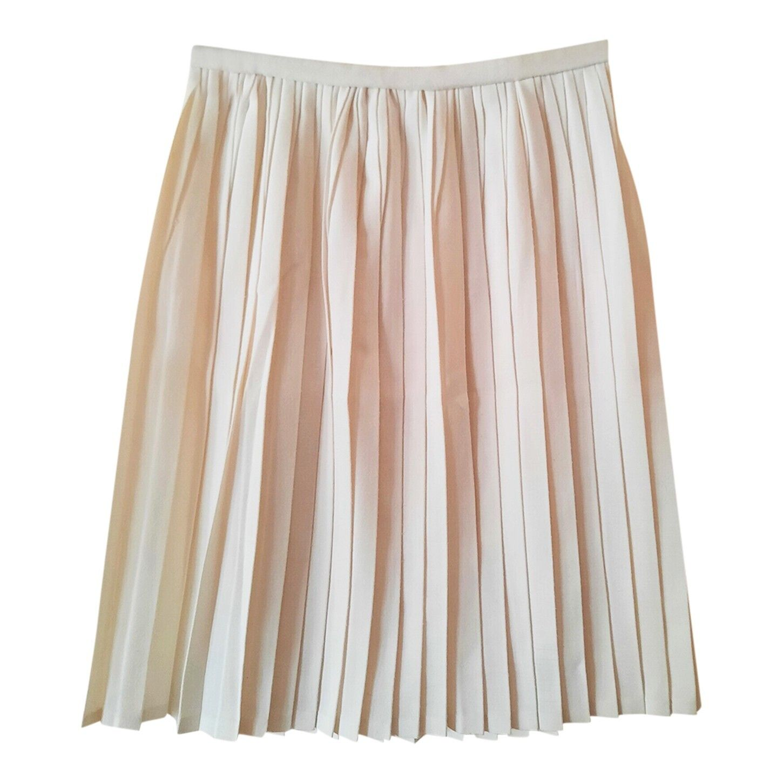 Mini jupe plissée