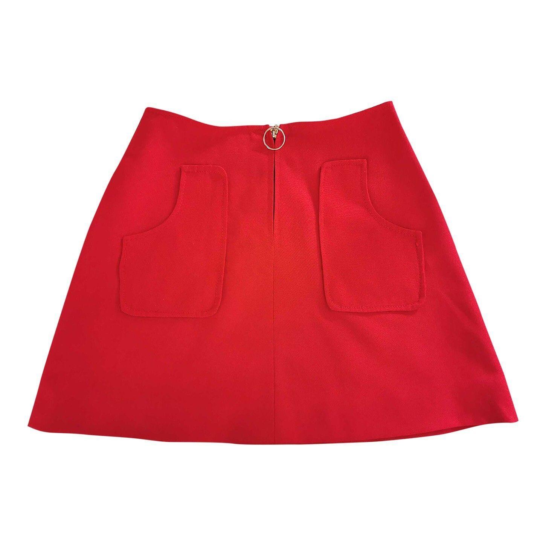 Mini jupe trapèze