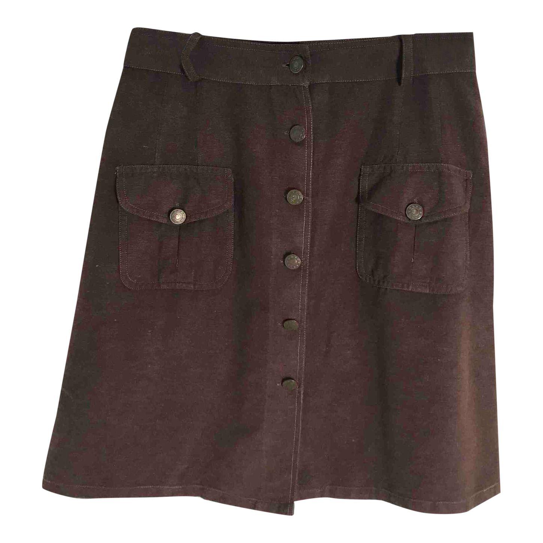 Mini jupe boutonnée