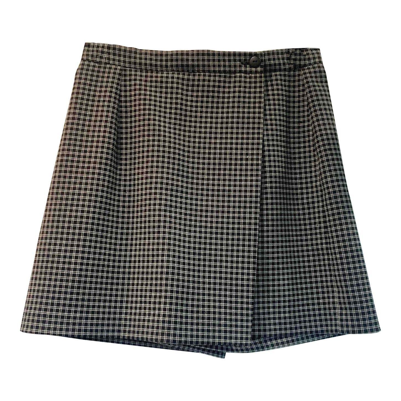 Jupe short à carreaux