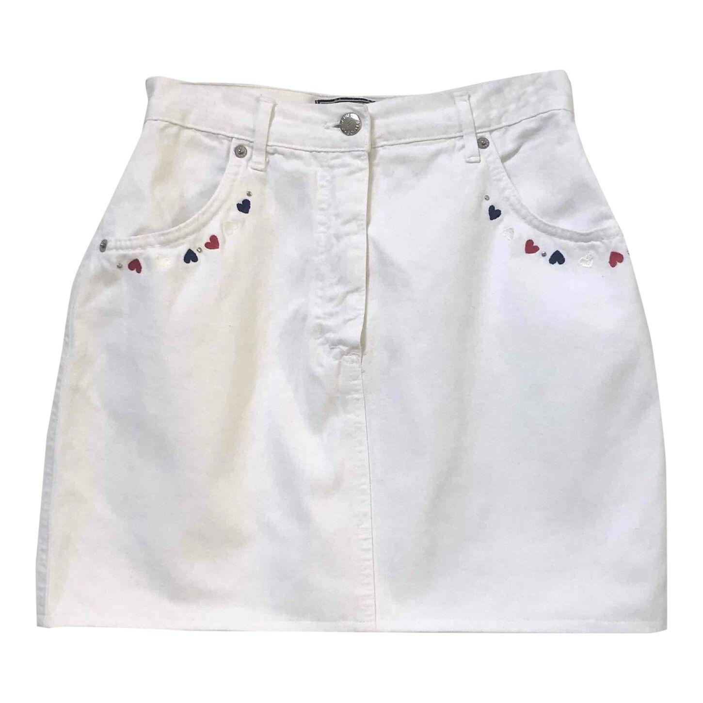 Mini jupe brodée