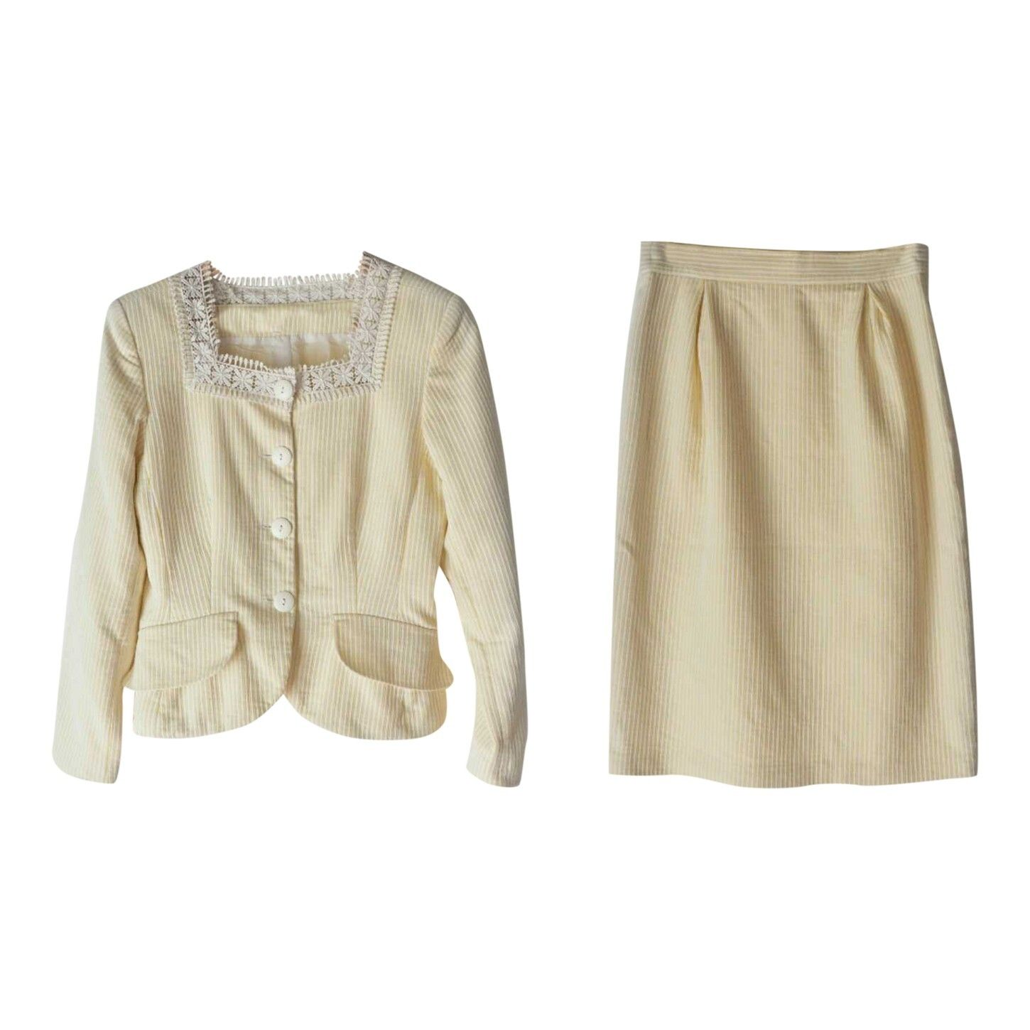 Tailleur jupe Cacharel