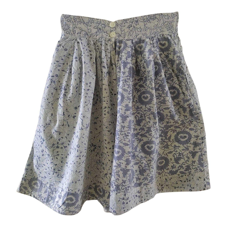 Jupe culotte en coton
