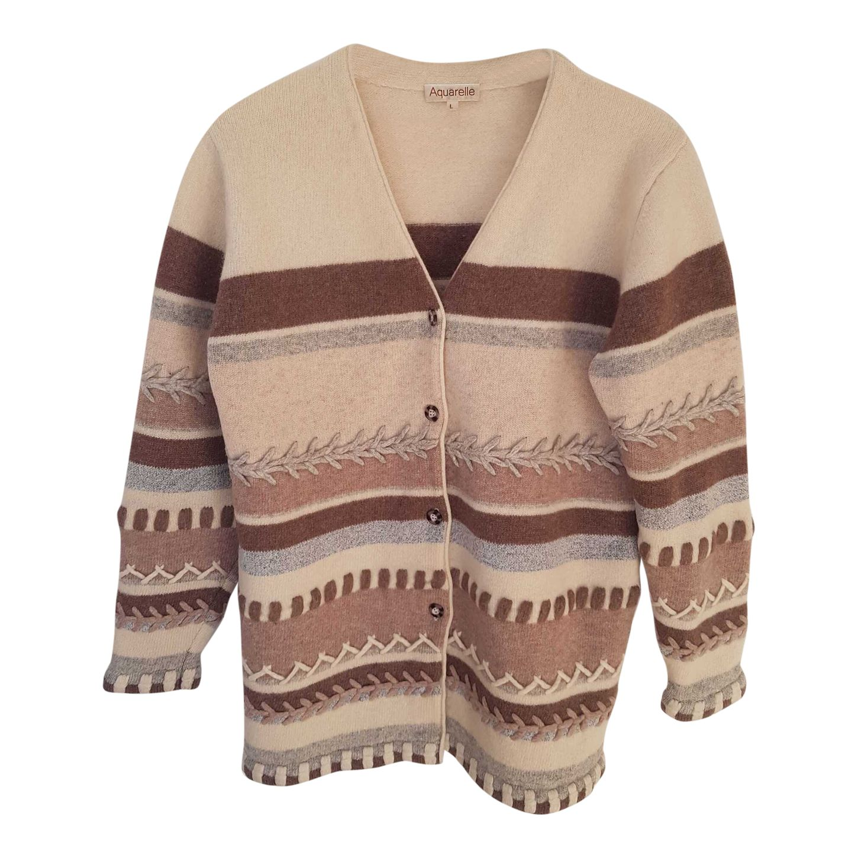 Cardigan en laine mérinos