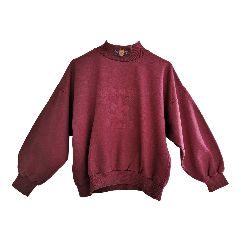 Sweat-shirt brodé