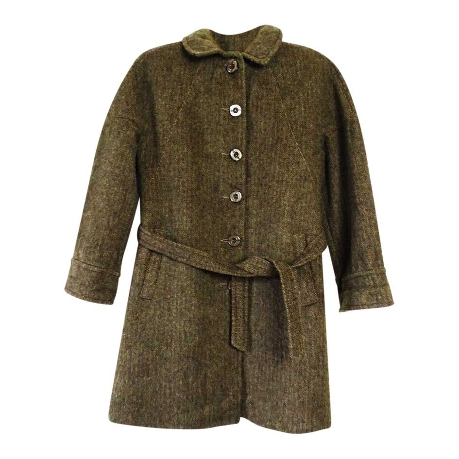 Manteau en laine mohair