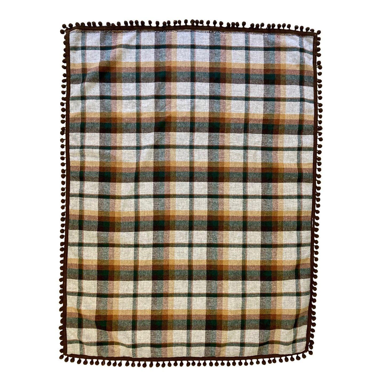 Foulard 80' écossais liseré grelots c