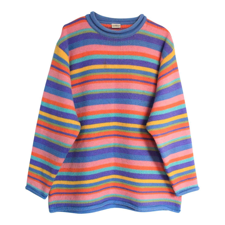 Pull multicolore