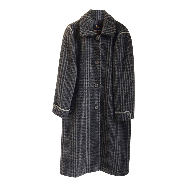 Manteau en alpaga