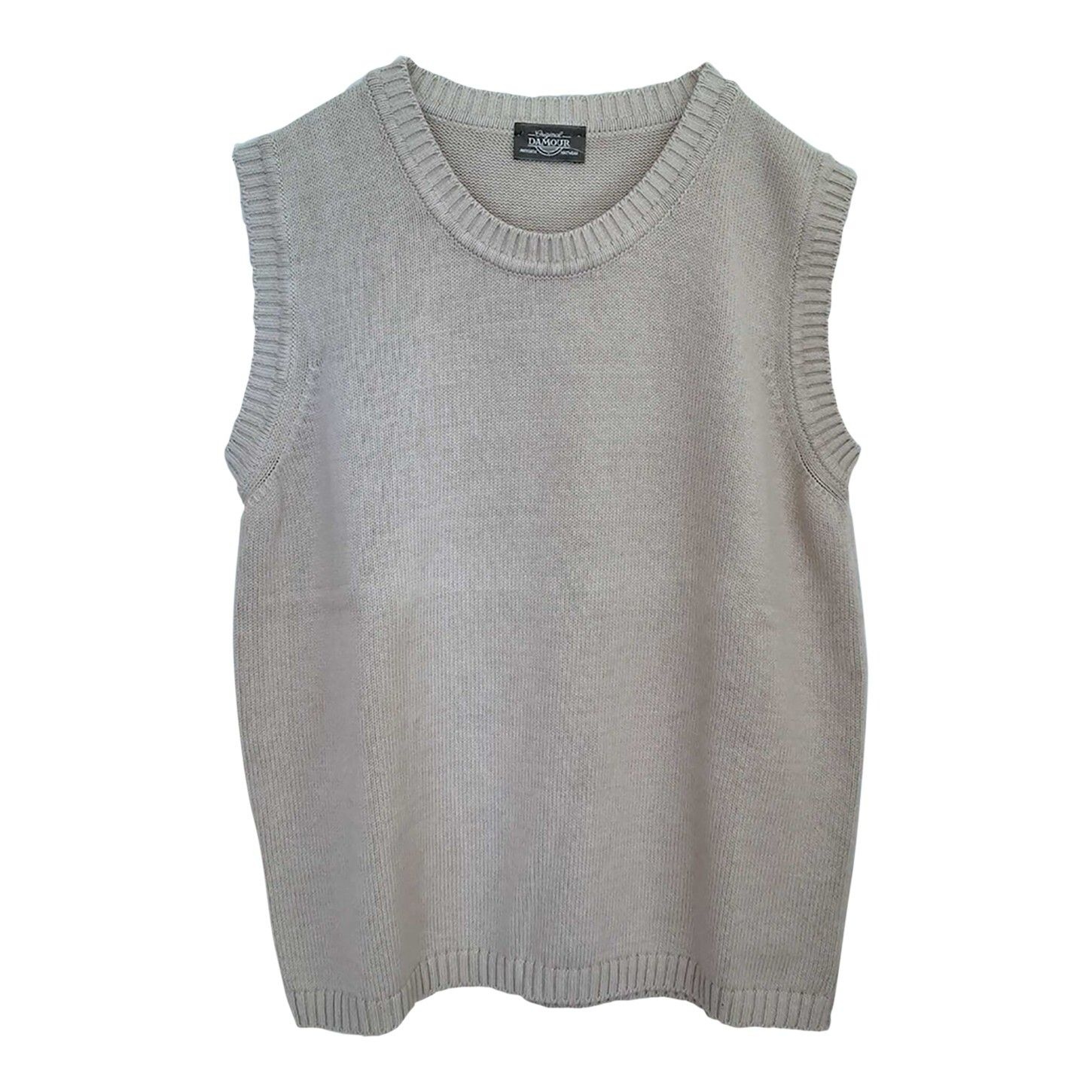 Pull sans manches