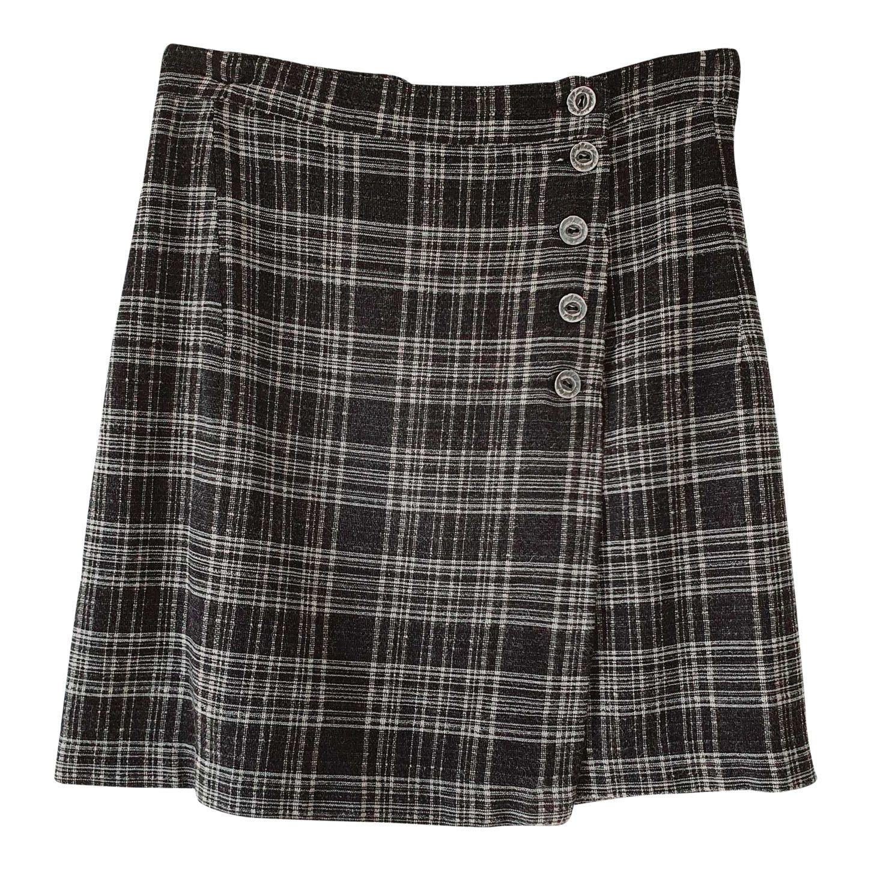 Mini jupe portefeuille