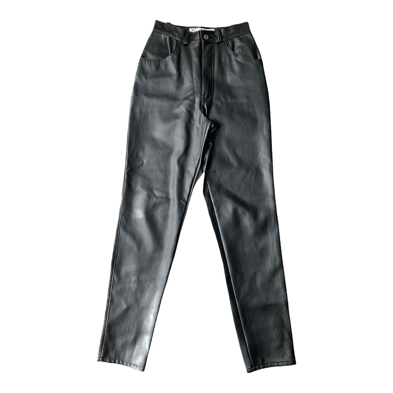 Pantalon similicuir